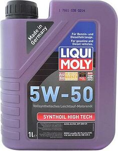 Liqui Moly Synthoil 5W-30 High Tech SM/CF/C3 1л