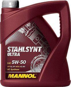 Mannol Stahlsynt Ultra 5W-50 4л