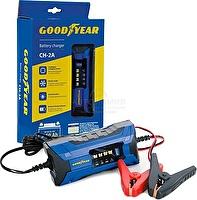 Электронное зарядное устройство Goodyear для свинцово-кислотных аккумуляторов CH-2A