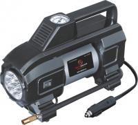 Компрессор двухпоршневой со светодиодным фонарем 12 В 10 атм. 70 л/мин