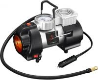 Компрессор однопоршневой с фонарем 12 В 10 атм. 35 л/мин