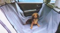 Накидка на заднее сидение для собак PSV черная NP-5008