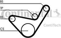 CONTITECH Ремень ГРМ MITSUBISHI L200/HYUNDAI Porter (MD310484_ CT1107)