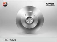 FENOX Диск тормозной задний CITROEN C4 / PEUGEOT 308 (к-кт 2 шт._ цена за 1 шт.) (TB215370)