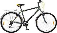 Велосипед 26 FOXX TARGET 18_ 18-скор._ TZ30/TY21/RS35/SW608_ 2 V-br_ серый