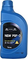 HYUNDAI/KIA Жидкость гидроусилителя HYUNDAI/KIA 1л п/с (красный) New PSF-3 SAE 80W 1L (03100-00100)