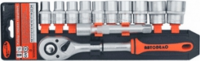набор головок торцевых 12пр. 1/2DR(холдер) АвтоDело 39842