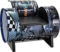 RAVENOL 2200000063076 Стул выставочный с подлокотниками