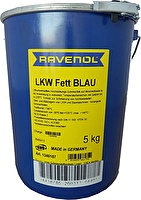 RAVENOL 4014835661752 Смазка LKW Fett Blau ( 5кг)