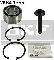 SKF VKBA 1355 Подшипник ступицы передний AD 80 88-> A4/A6 VW B5 (+стопор+болт) (893498625D)