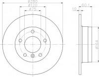 Textar 92055703 тормозной диск на BMW 3 (E36)