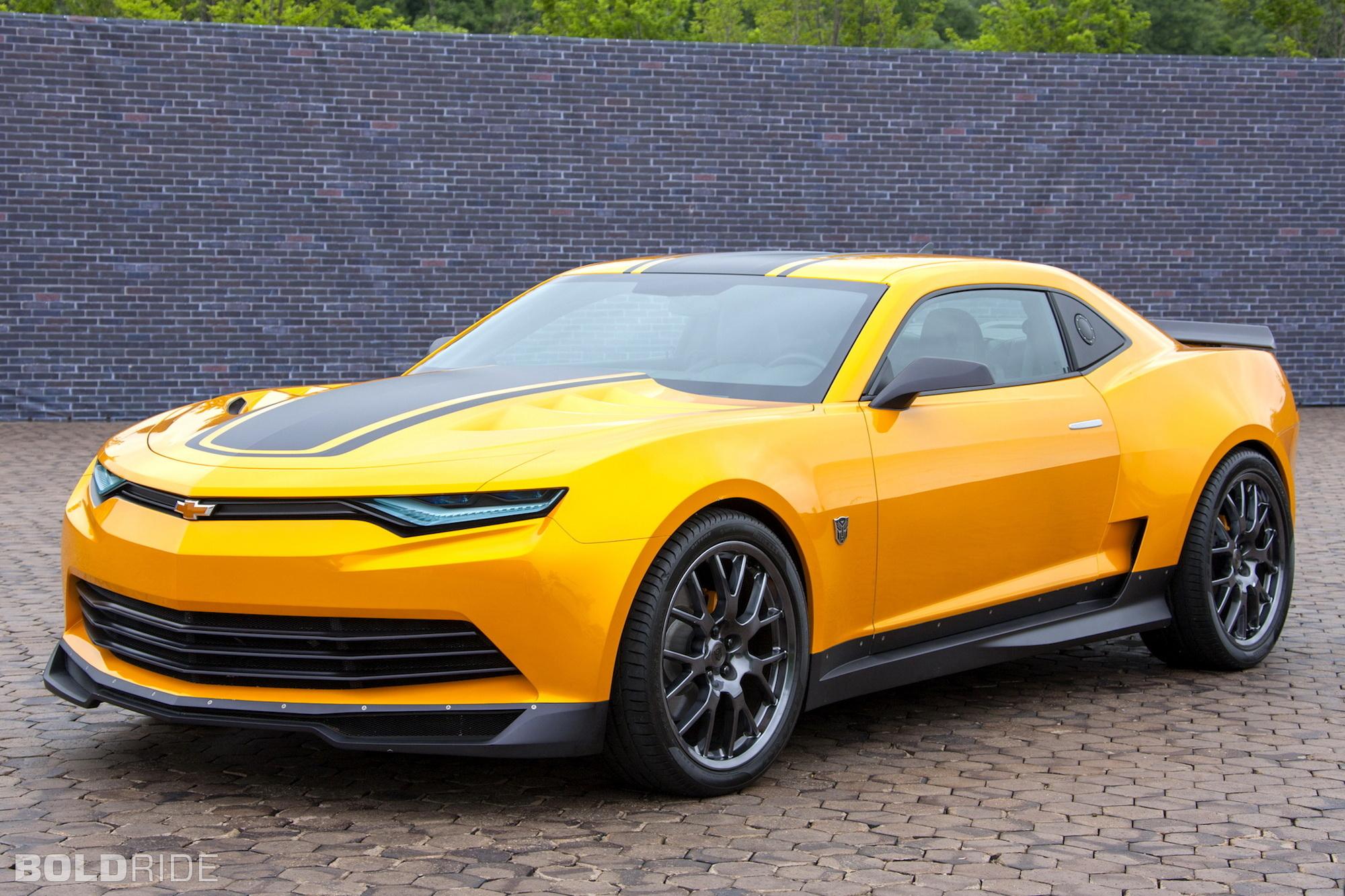 Spy Photos 2014 Transformers Bumblebee Camaro  New