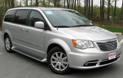 Шины и диски для Chrysler Town & Country