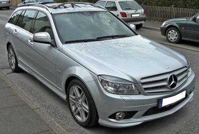 Mercedes c class w204 s204 2007 c330 for Mercedes benz c330