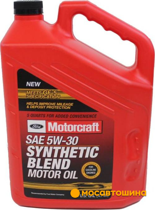 Ford motorcraft 5w 30 synthetic blend for Motorcraft synthetic blend motor oil