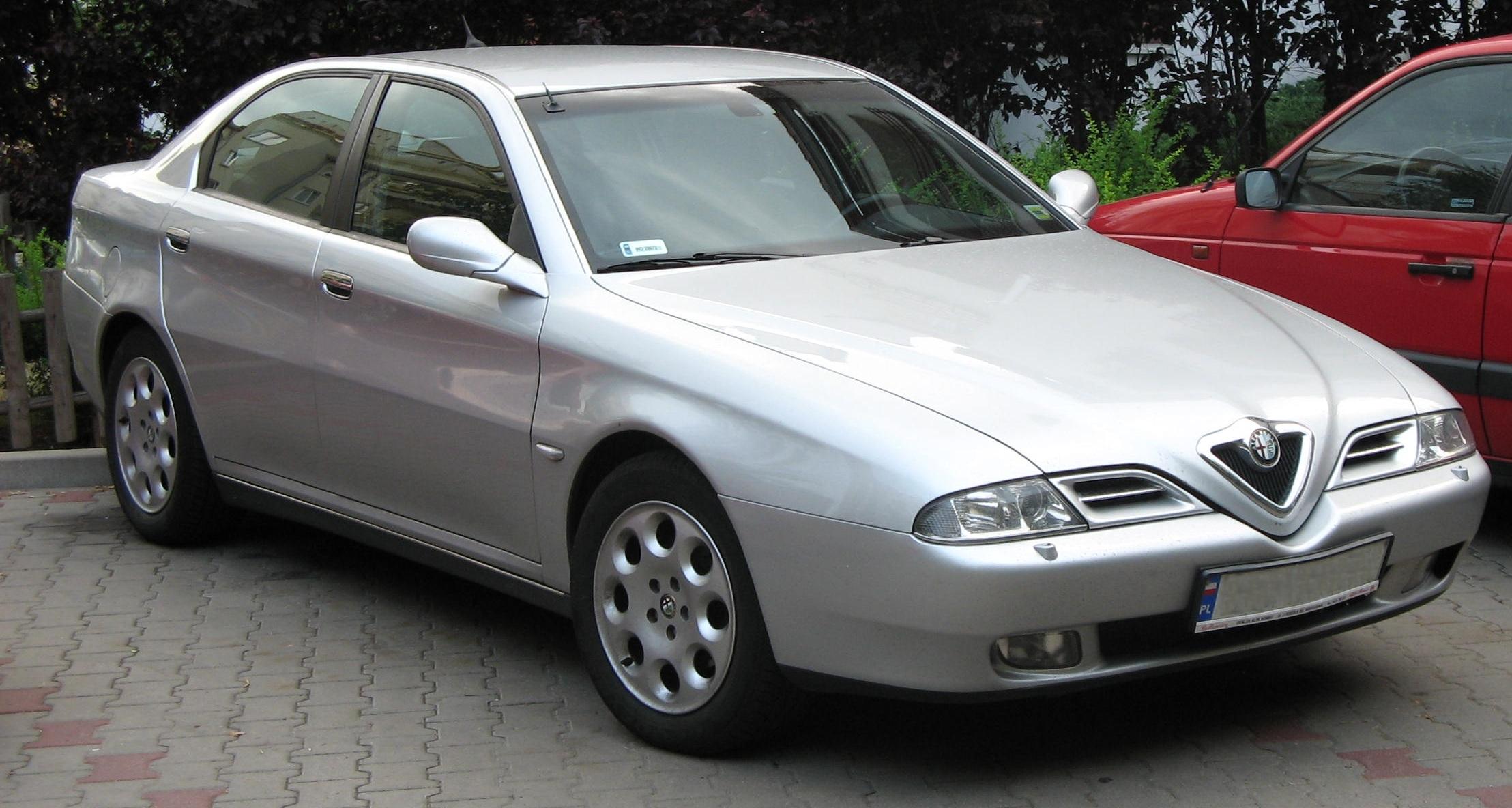 Шины и диски для Alfa Romeo 166 1999, размер колёс на Альфа Ромео 166 1999