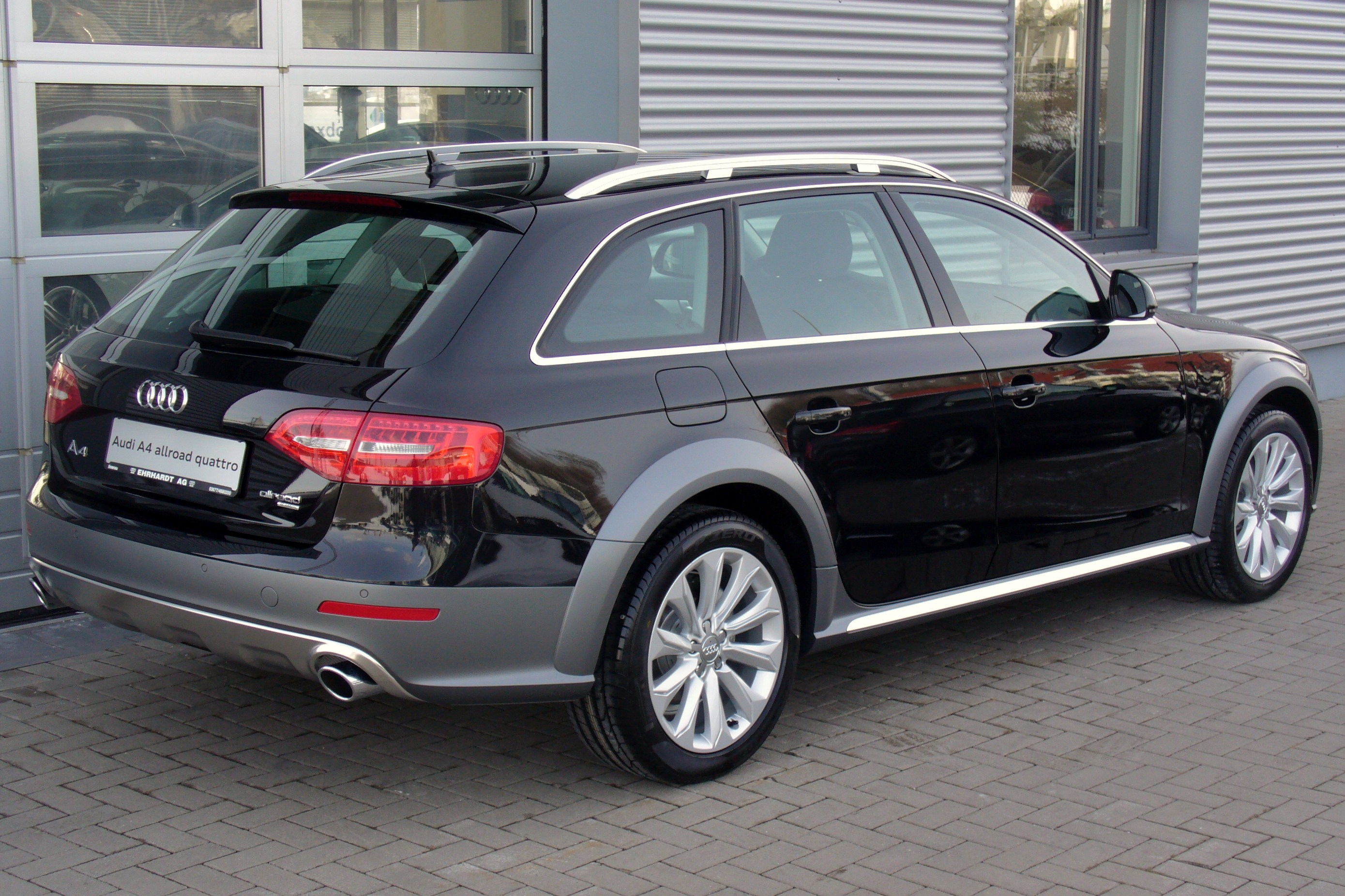 шины и диски для Audi A4 Allroad 2011 30 Tdi Quattro размер колёс