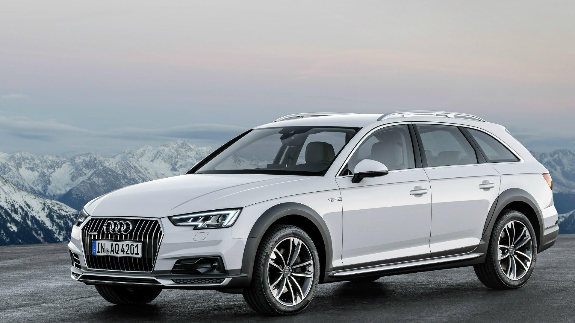 шины и диски для Audi A4 Allroad 2017 30tdi 218 B9 размер колёс на