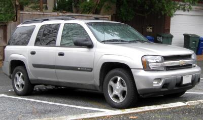 Шины и диски для Chevrolet TrailBlazer II, размер колёс на ...
