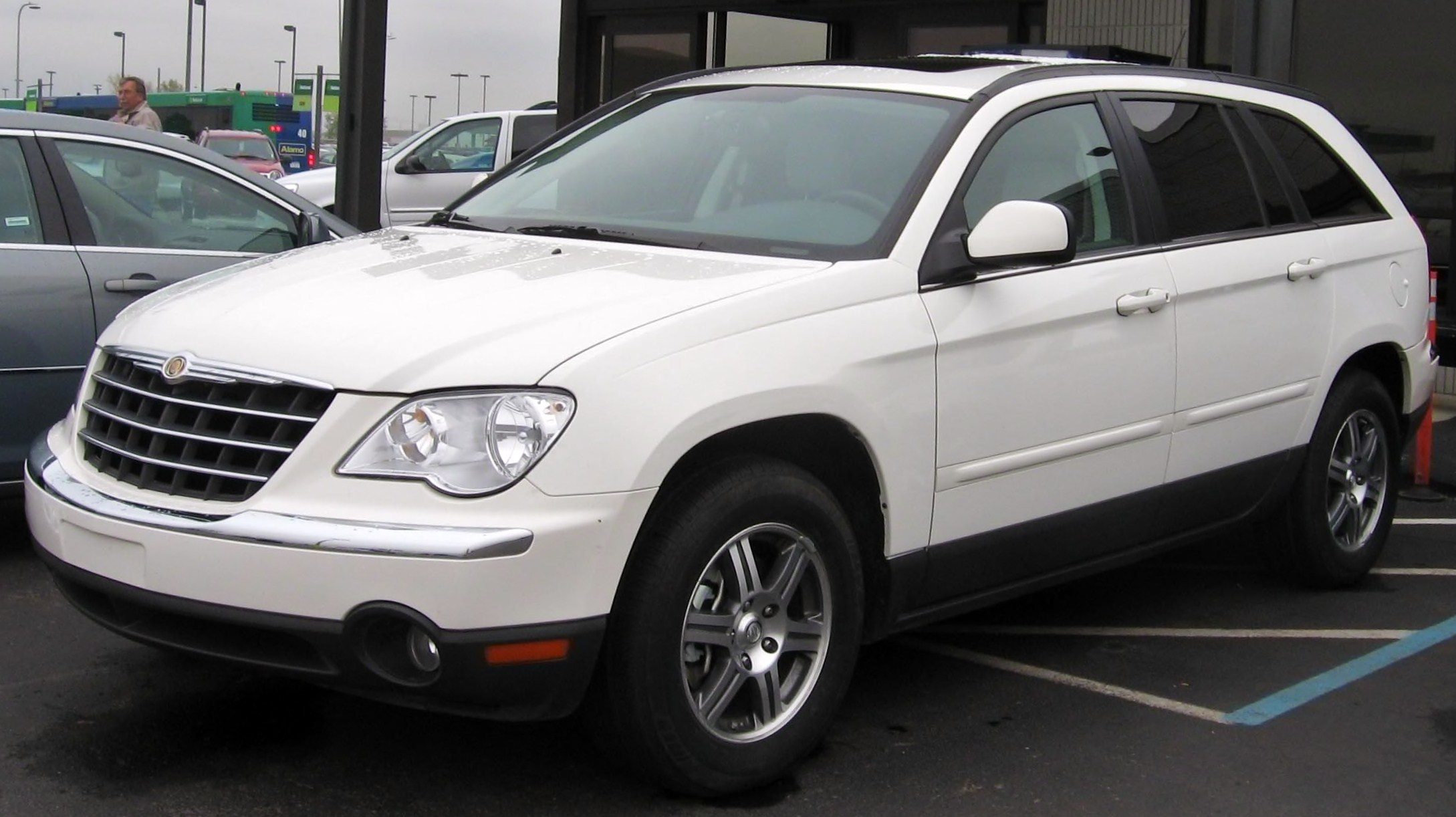Шины и диски для Chrysler Pacifica