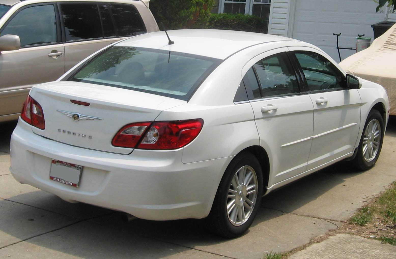 Диски на Chrysler Sebring