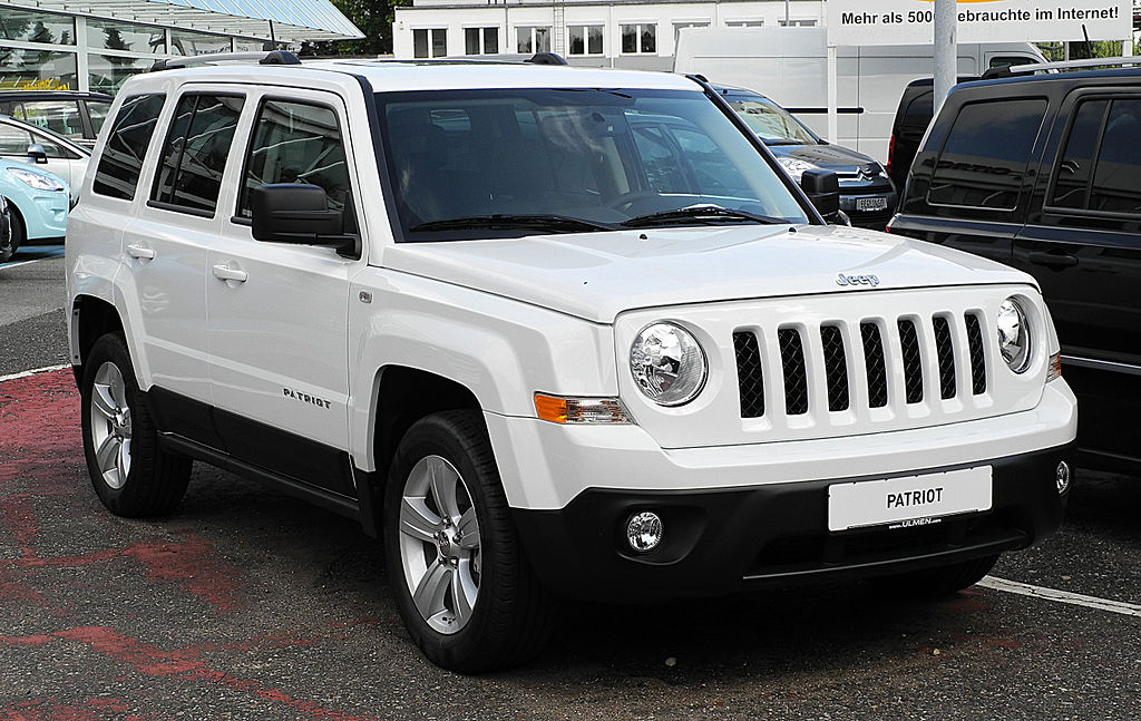 Шины и диски для Jeep Patriot