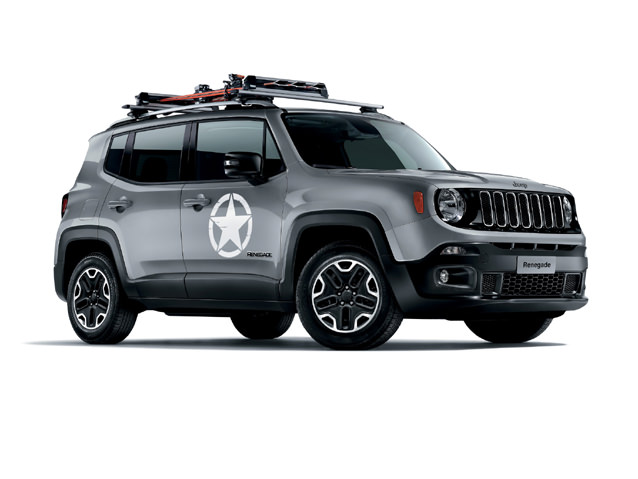 Шины и диски для Jeep Renegade