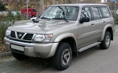 размер шин nissan patrol