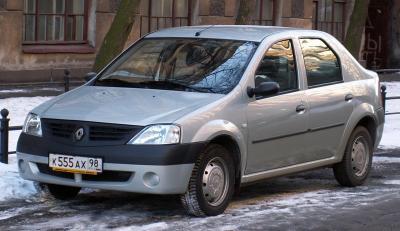 Шины и диски для Renault Logan 2006, размер колёс на Рено Логан 2006