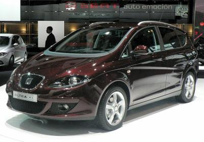Шины и диски для Seat Altea XL