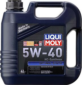 Моторное масло Liqui Moly Optimal Synth 5W-40 4л (3926)
