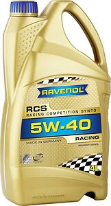 Моторное масло Ravenol RCS Racing Competition Synto 5W-40 4л (4014835741997)