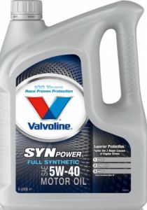 Моторное масло Valvoline SynPower Full Synthetic 5W-40 4л (872381)