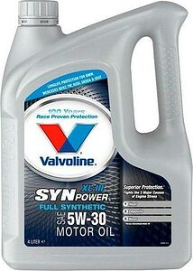 Моторное масло Valvoline Synpower XL-III 5W-30 4л (872373)