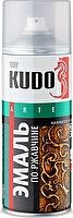 KUDO Автоэмаль KU-3001 Молотковая по ржавчине серебристая (520мл) KU-3001
