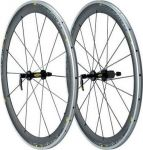 Колесо переднее Шоссе, Mavic Cosmic carbon SL, 99553010, ось 100мм, цвет черный.